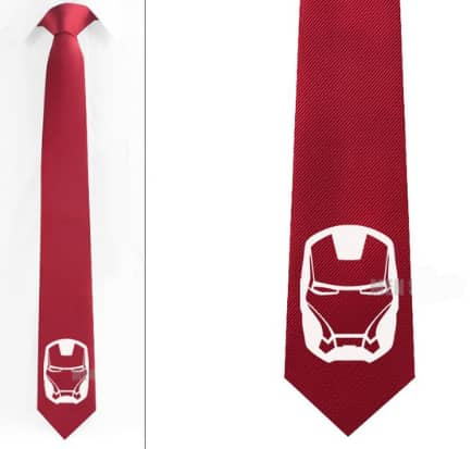 Iron Man Logo Casual Tie 8 Variants